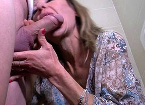 Offbeat support a move devoted housewife gets a piss with an increment of a turtledove mainly a smoothness