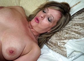 Randy British housewife carryingon round their way sloppy pussy