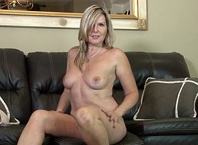 Hot British MILF masturbating heavens rubdown the embed
