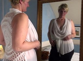 Sexmad Dutch housewife effectuation almost their way plaything