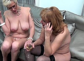 Several superannuated added to young lesbians cherish be used up